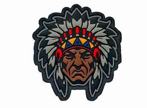 Warrior Traditions | Native American Warrior Head Morale Patch