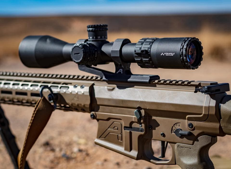 Primary Arms Athena-BPR mil reticle.