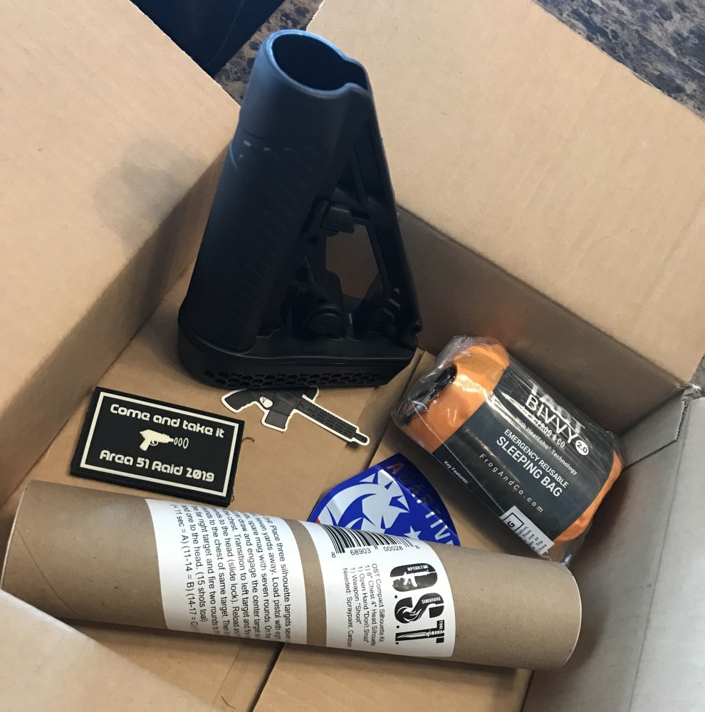 Monthly tactical box from TacPack