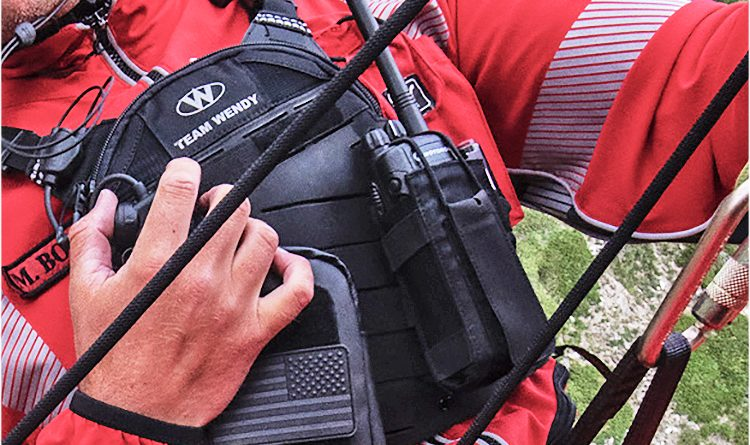 Search and Rescue gear from Team Wendy: radio rig