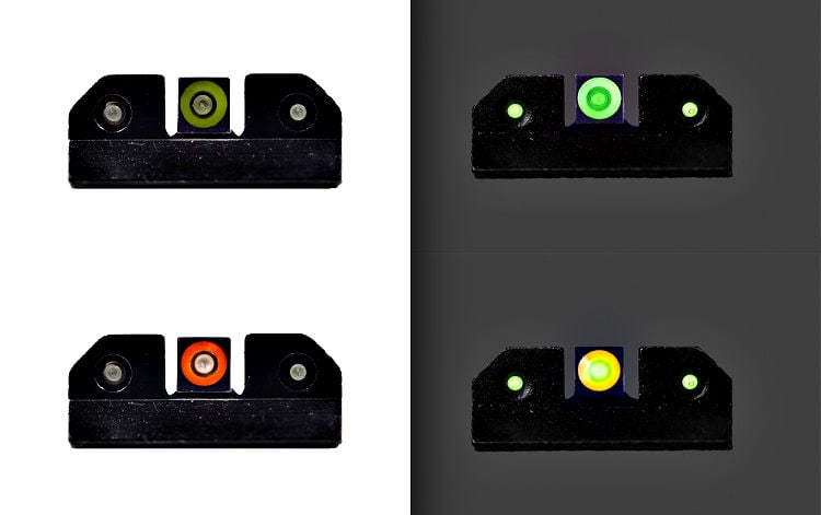 XS Ram Night Sights - Bright and Low Light