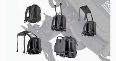 An armored, concealed carry backpack from Devcore