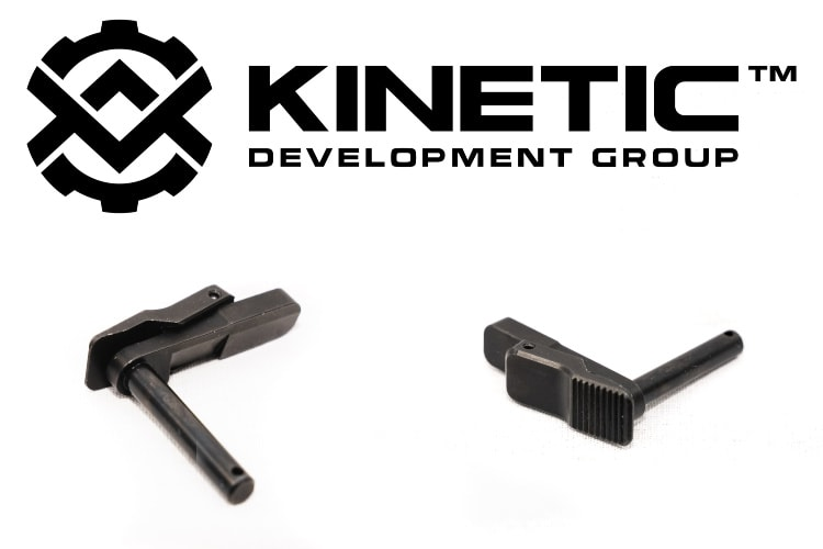 This is the first ambidextrous magazine release for the HK 417 variant rifles.