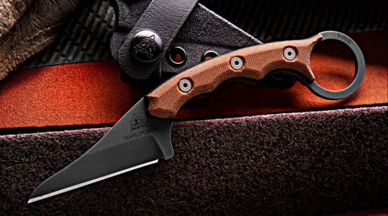 New knife from TOPS Knives: The Poker.