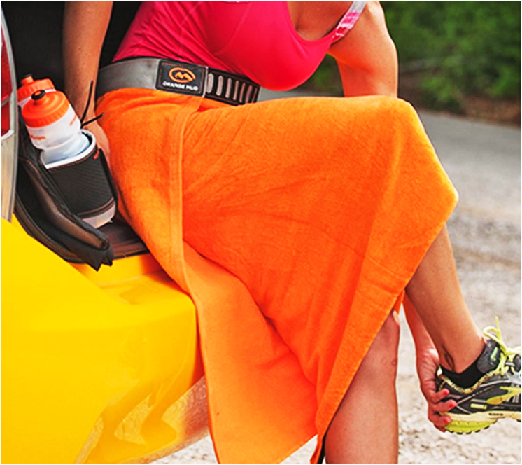 gift ides for runners and gym rats: Orange Mud Transition Wrap