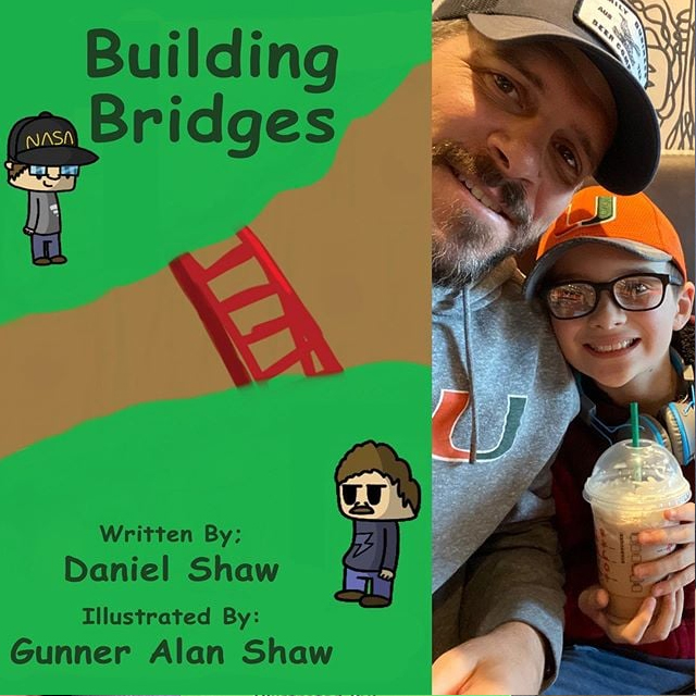 New childrens books on your list to check out should include this one from Daniel and Gunner Shaw: Burning Bridges