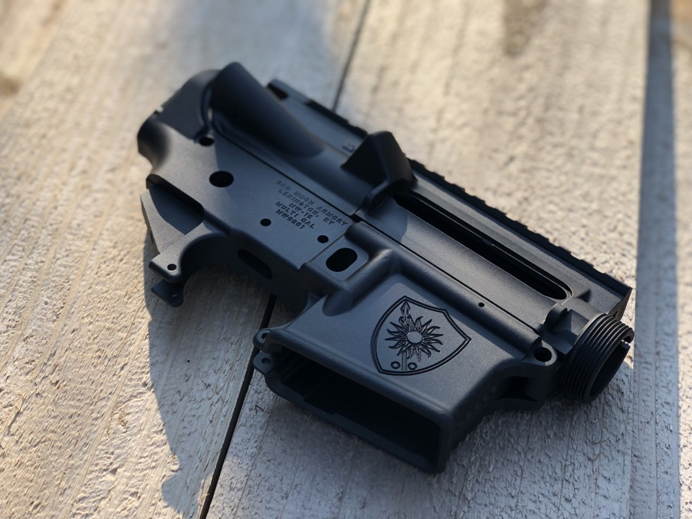 AR15 stripped lower for our Patreon backers