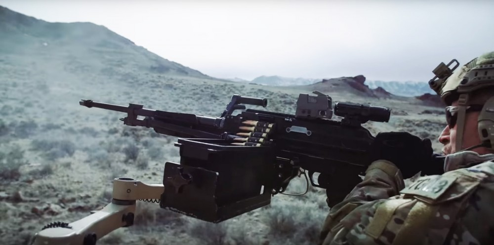 SIG's MG-338 mounted in a vehicle