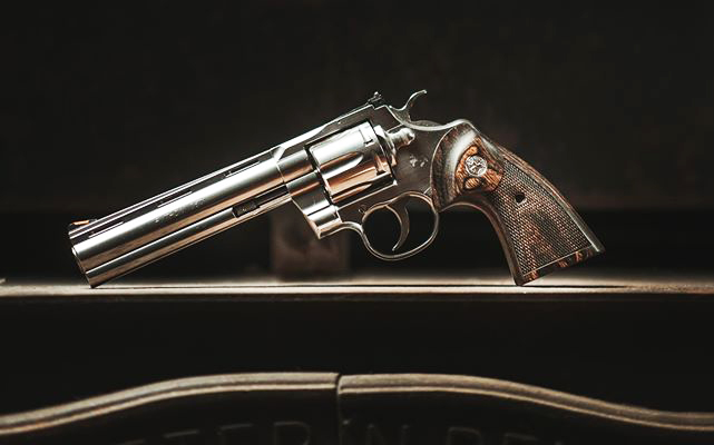 Colt has released a new Python .357