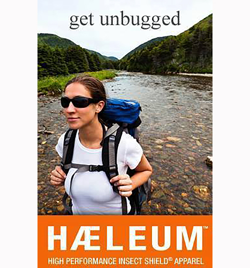 Women's insect repellent clothing from Haeleum