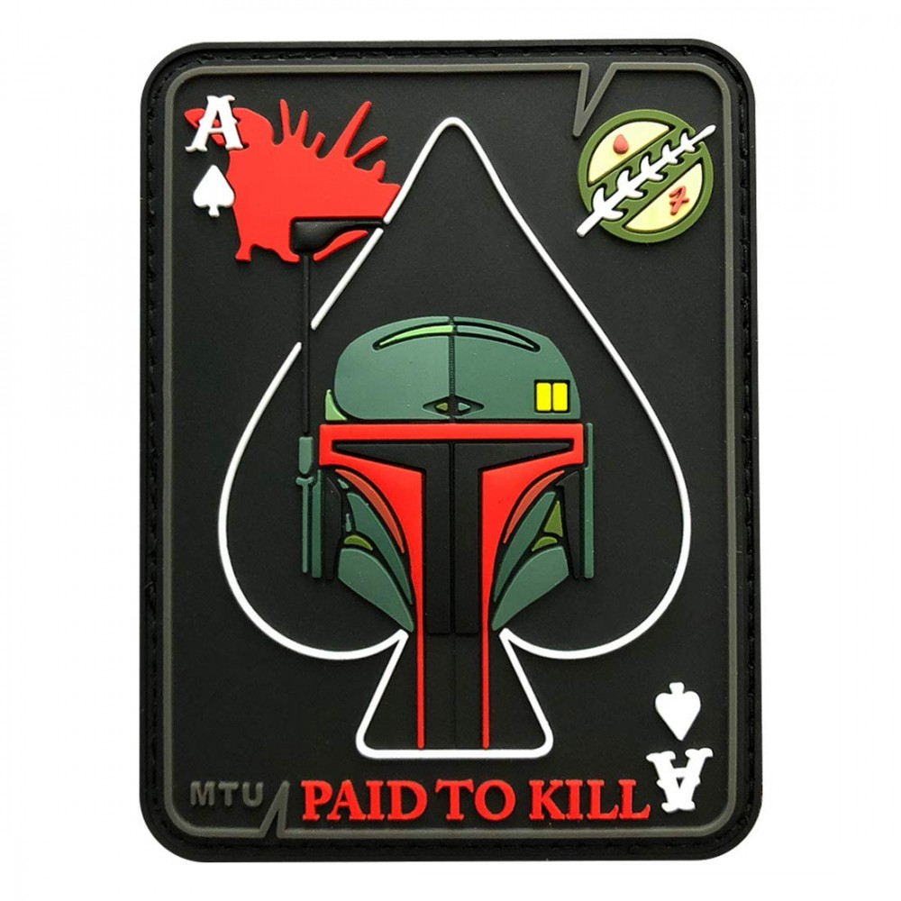 Star Wars patches: the mandalorian