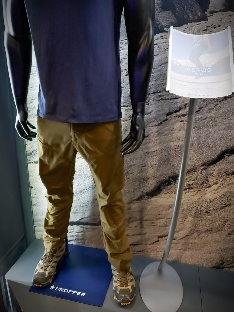 Propper displayed their Aeros Pant at their SHOT Show 2020 booth.