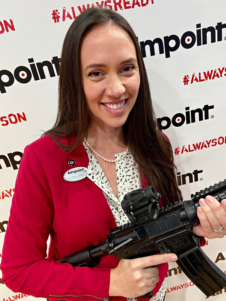 Real Women of SHOT - Brittney Stalvey- Aimpoint.