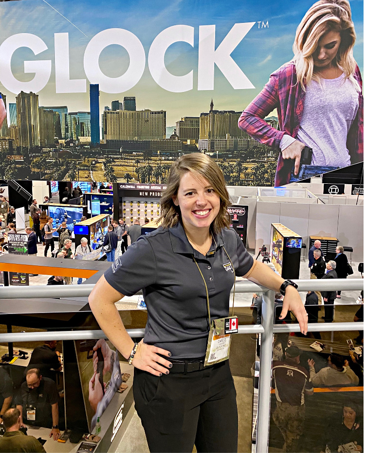 Real Women of SHOT - Carlie Winegar - Glock USA.
