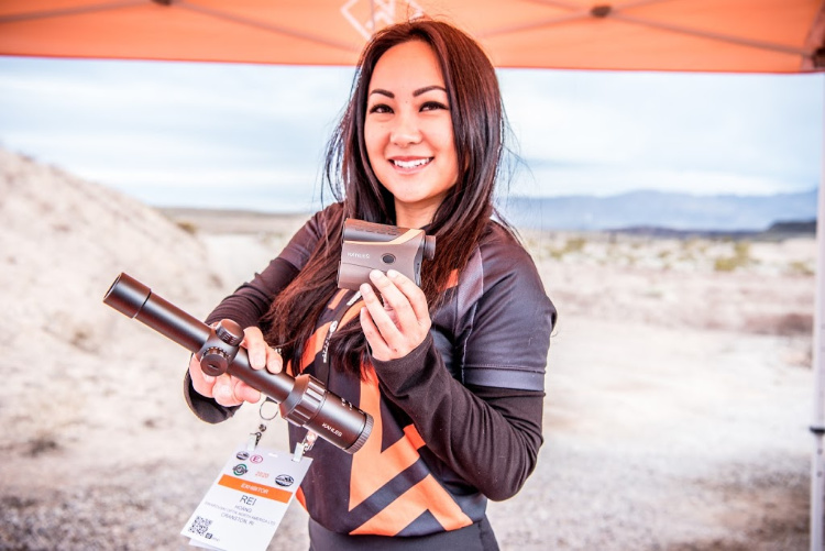 Real Women of SHOT - Rei Hoang - Precision Rifle Shooter.