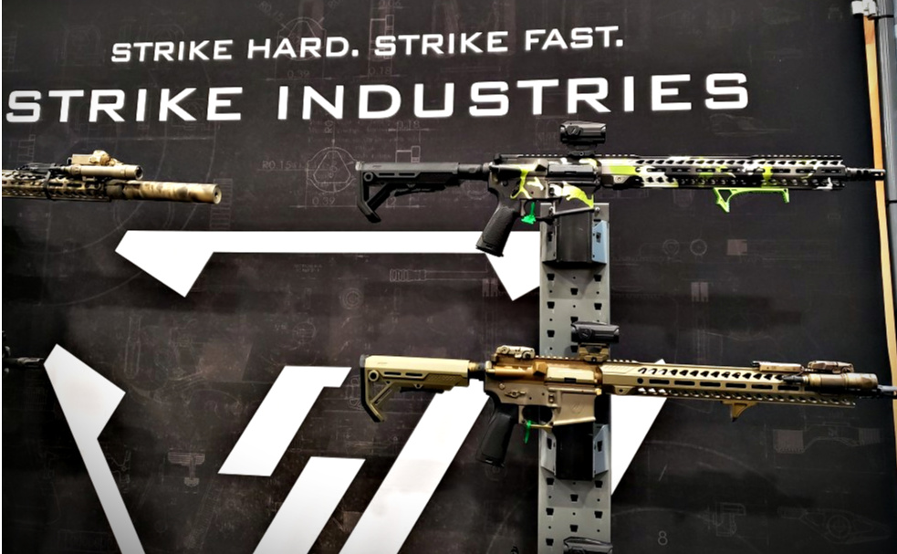 Sentinel Elite AR Rifle, AR Pistol, and Scouter | Strike Inudstries at SHOT