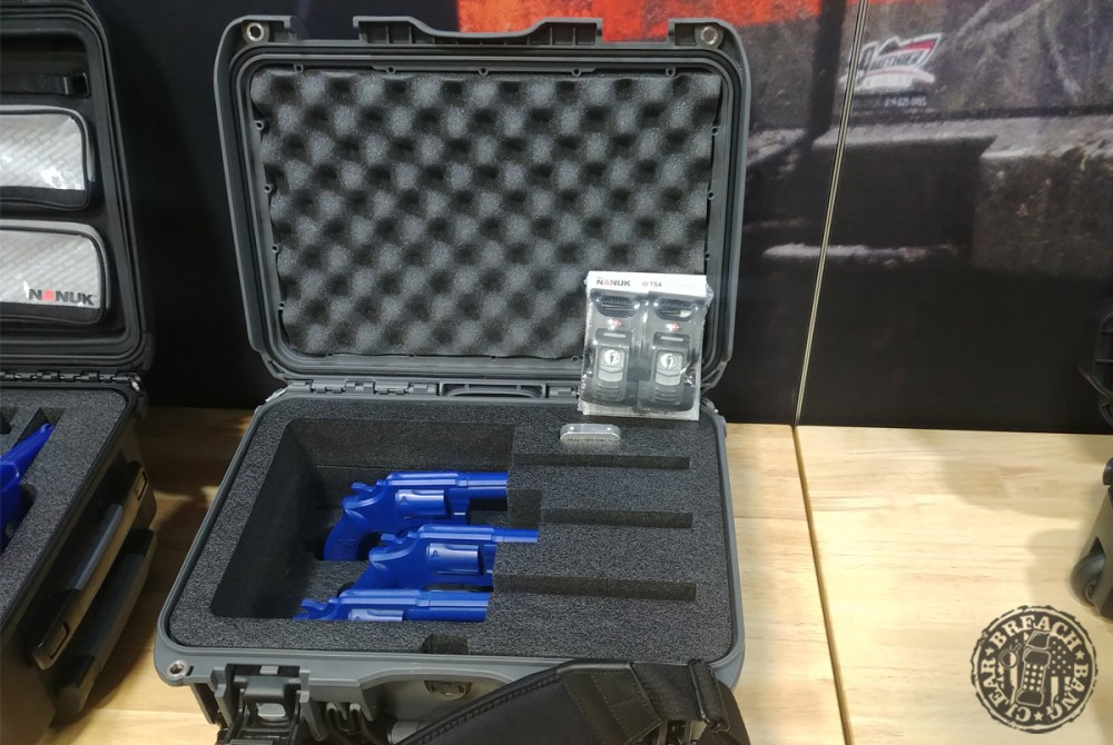 Nanuk 918 3up Revolver Case