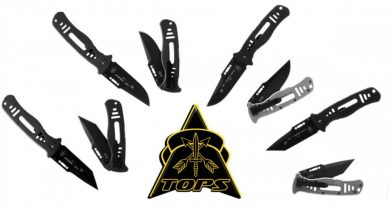 TOPS Knives Limited Release CQT Folders.