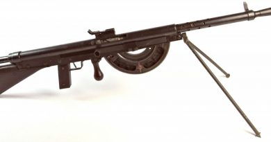 "The ""Fusil Mitrailleur Modele 1915 CSRG"" – more commonly known as the Chauchat. (Author's Collection)"