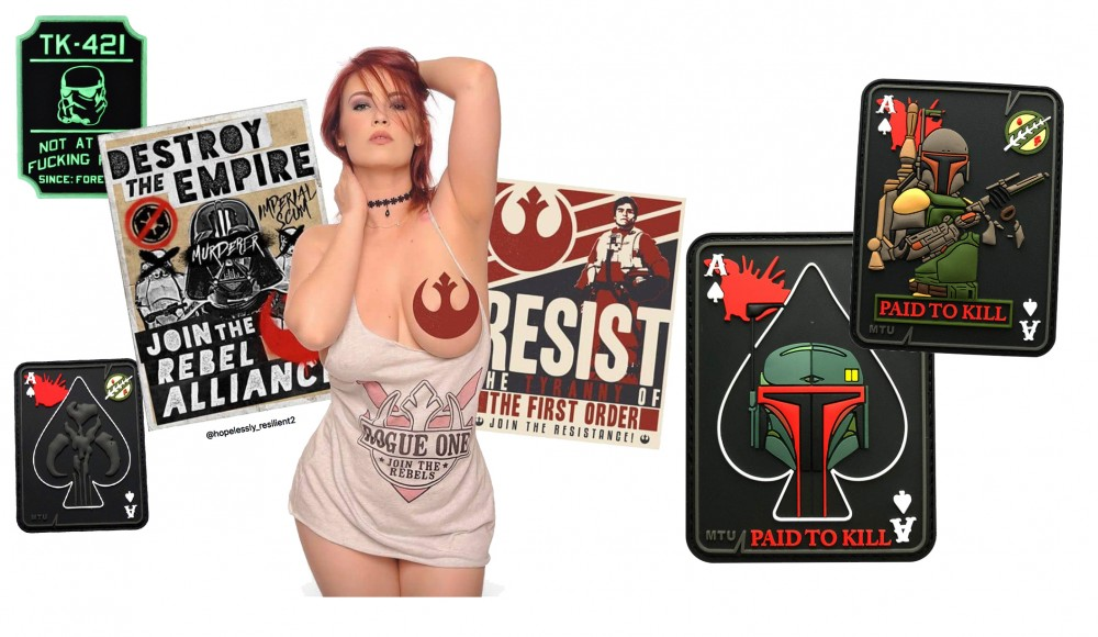 Star Wars Patches: 13 morale patches for your gear