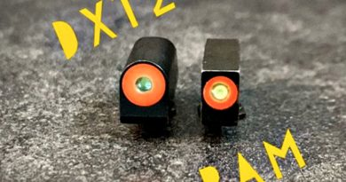 XS Pistol Sights DXTX and RAM.