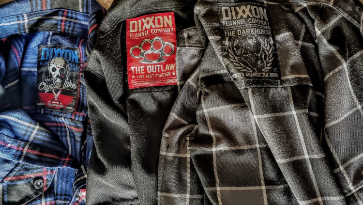 Image of Dixxon Flannels in Travis Pike's review on Breach-Bang-Clear.