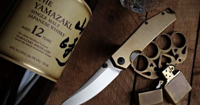 GiantMouse Knives Introduces the ACE Clyde in Brass.