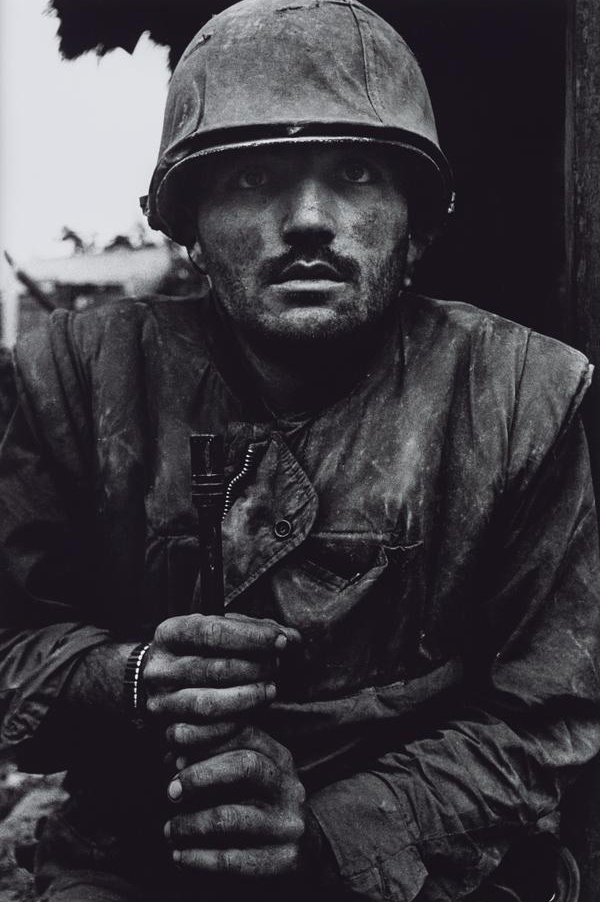 "National Galleries Scotland, ""Shell-Shocked US Marine, The Battle of Hue, 1968, Don McCullin"""