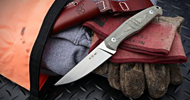 GMF2-FF Fixed Blade knife from GiantMouse Knives.