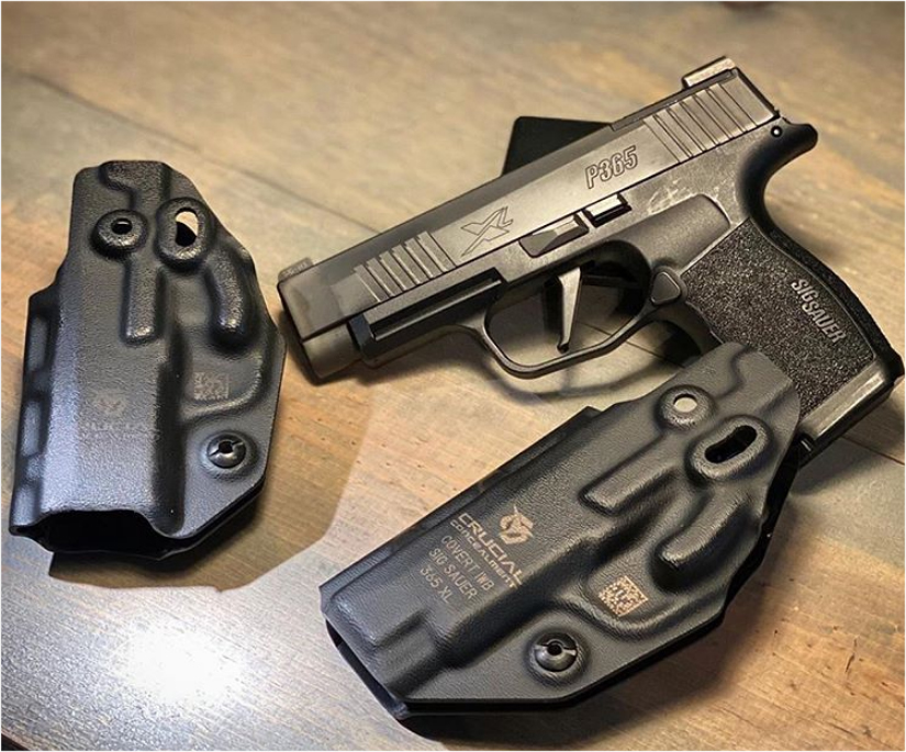 SIG P365 holster by Crucial Concealment