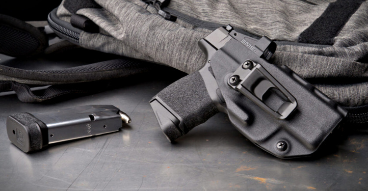 Springfield Hellcat holster from Crucial Concealment. Image source: Armory Life.