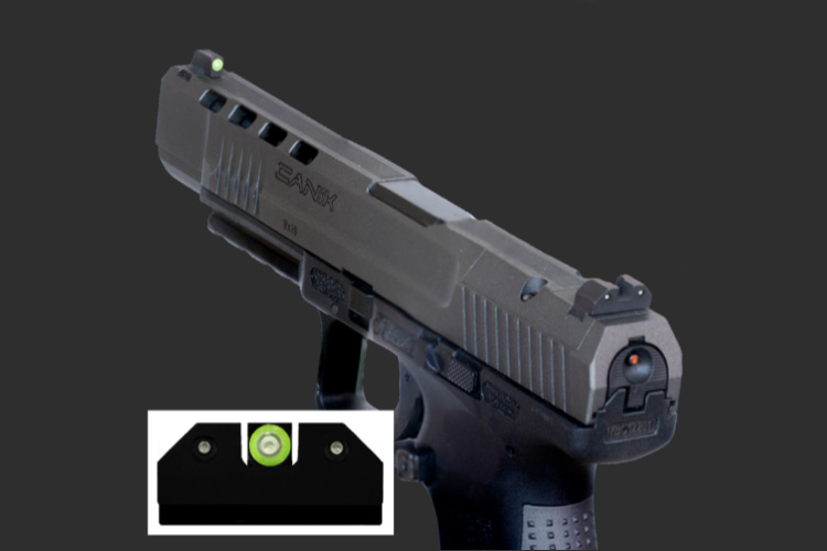 XS Sights has expanded its high-performance 3-Dot RAM Night Sight line to include the Canik USA TP9SF series.
