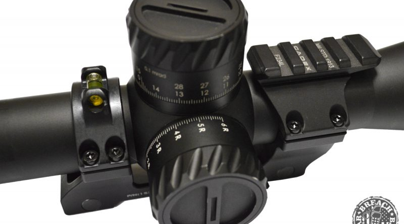 Cadex Defence Unitized Scope Mount Side View