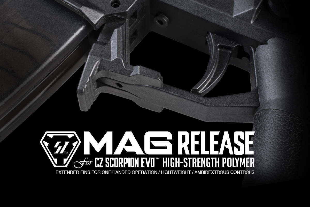 CZ Scorpion Mag Release | New from Strike Industries