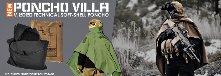 Tactical poncho by Hazard 4. 2020 Version of the Poncho Villa.