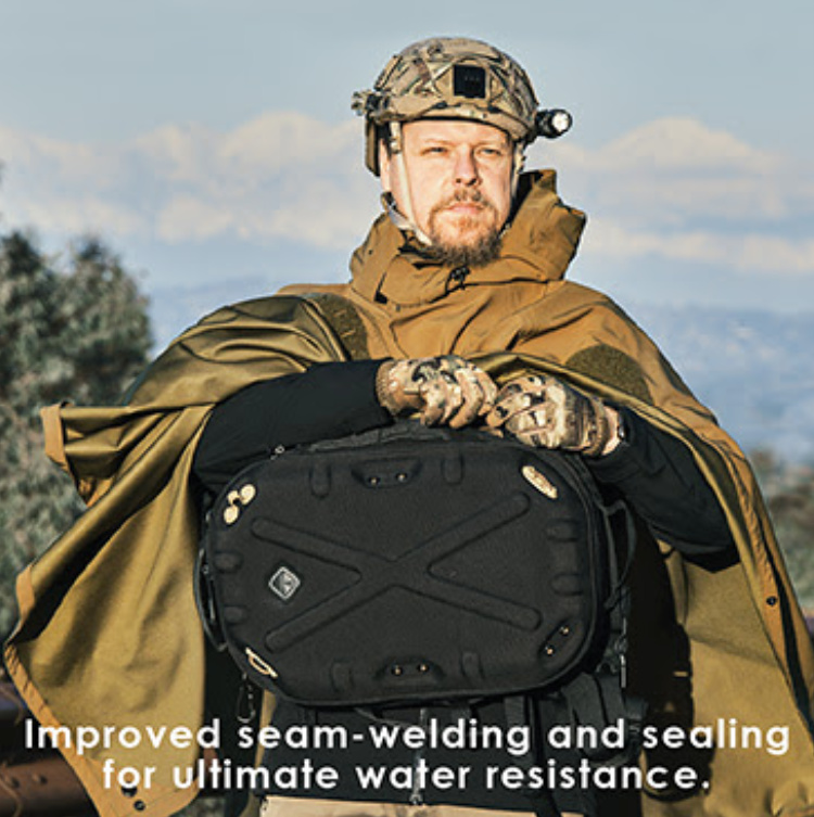 Poncho Villa Mk. 2 - The upgraded tactical poncho has same-color seam tape on the inside (already implemented on some of the later batches of the original design.)