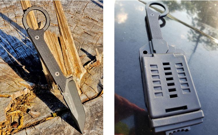 Ahab-X and belt clip.