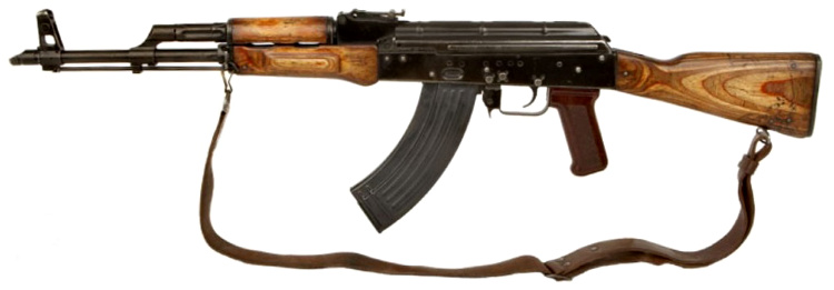 The Maadi is essentially a clone of the AKM (AK Modern), produced under license. It was the first AK weapon to be imported into the United States.