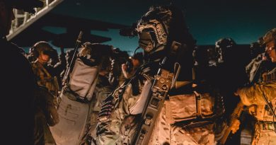 "The Ranger Regiment continues to up its game on gear previously confined to the ""black"" special operations world. (Photo from @AbraxasSpa Twitter)"