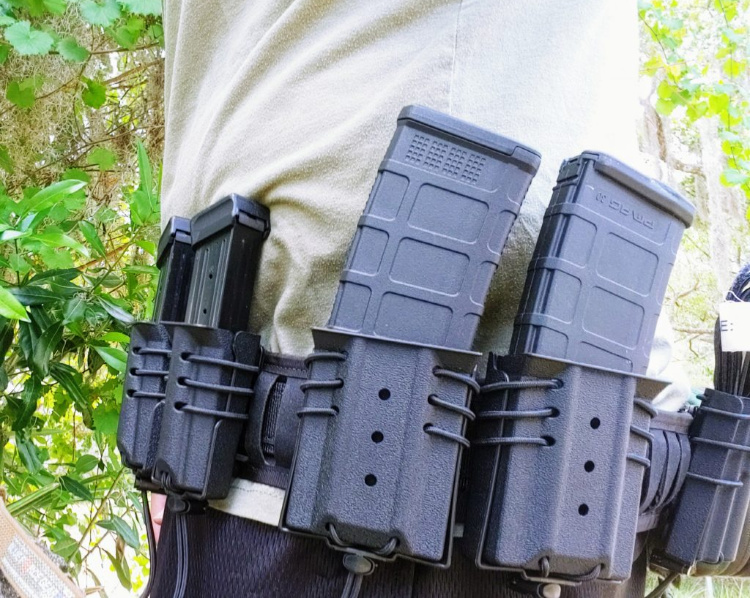 Battle belt from Wilder Tactical : the Ultimate Operator Package.