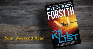 "Your Weekend Read: Review of ""The Kill List"" by Frederick Forsyth"