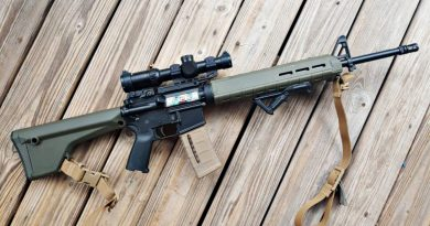 Light Rifle AR-15 Build Feature Image.