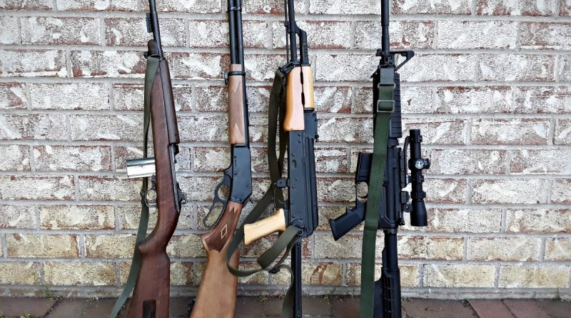 As you can see, the Marlin Youth is actually shorter than the most popular semi autos: M-1 Carbine, Marlin, Underfolder AK, and AR-15 Carbine.