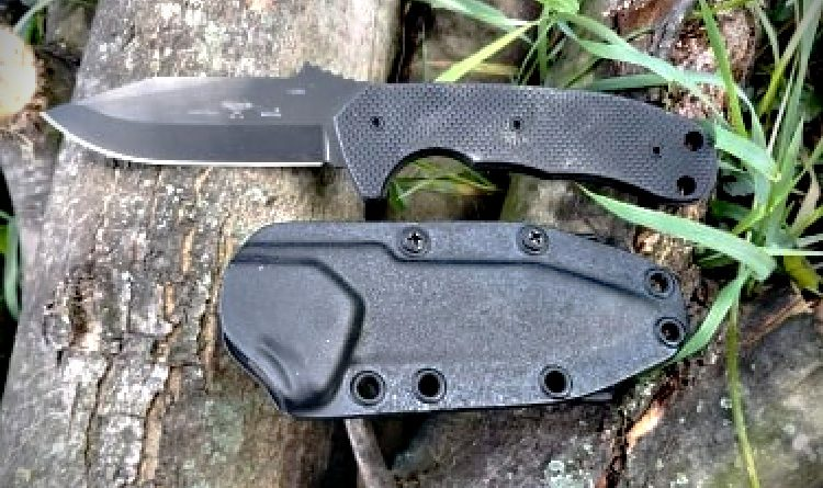 Emerson Police Utility Knife and sheath.
