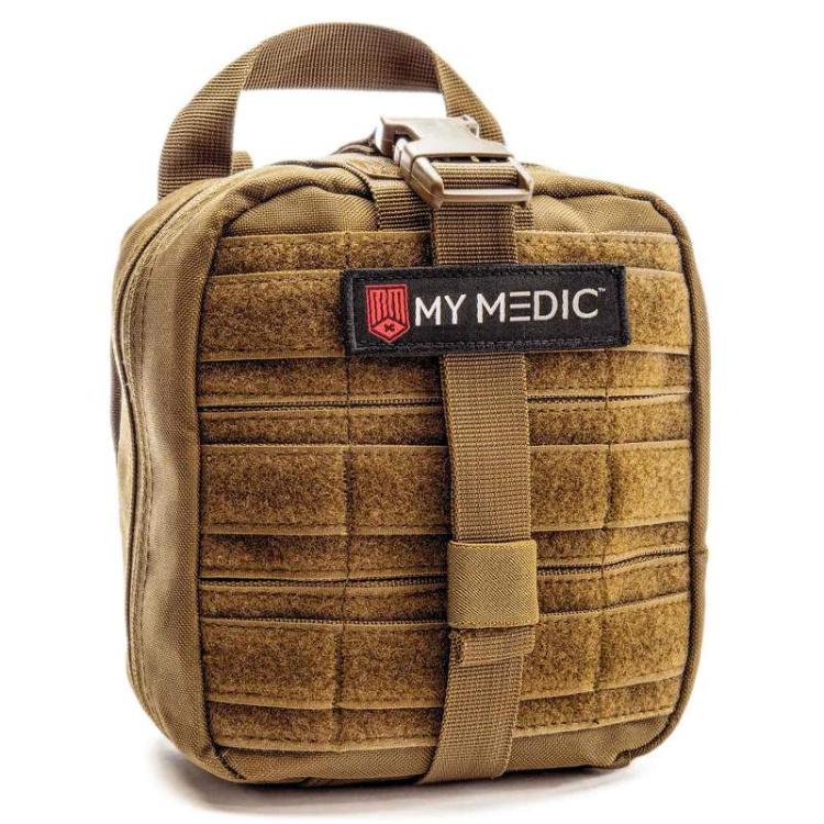 My Medic emergency medical kit, coyote tan.