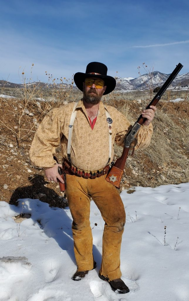 Paul is a Cowboy Action competitive shooter.