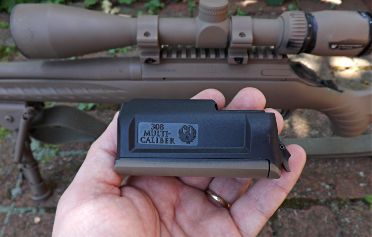 Ruger American Predator rotary magazine with 6.5 Creedmoor