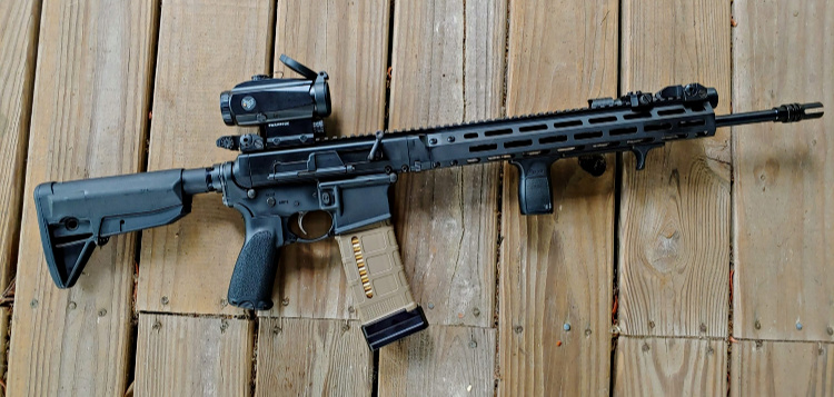 Shield Arms rifle mag accessory