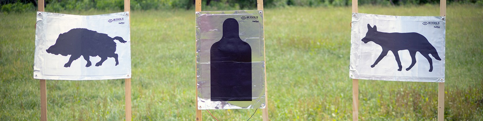Thermal scope targets for training