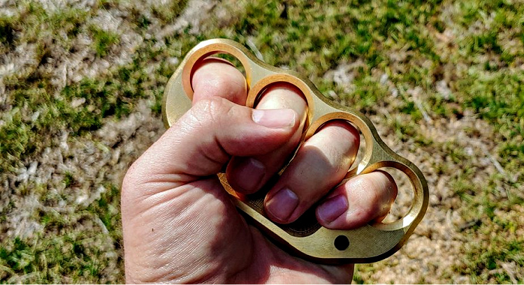 brass knuckles, or knuckle dusters